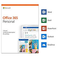 Office Dowload Microsoft Office 365 Personal 1 User 1 Year Pc Mac Download