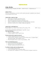 Pastor Resume Templates Extraordinary Youth Minister Resume Pastor Resume Template Youth Ministry Resume
