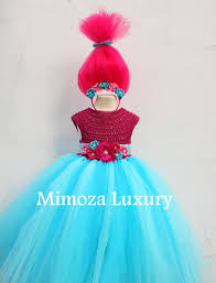 Poppy Troll Dress Pattern Simple Decoration