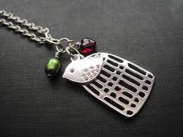 birdcage love bird necklace