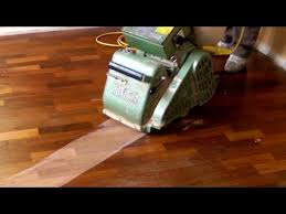 sanding and refinishing hardwood floors step by step