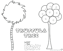 Lorax Coloring Page