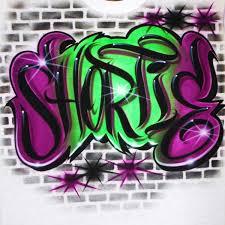 Airbrush Designs Airbrush T Shirt Graffiti Style Name Bricks By