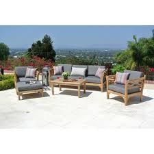 Modern & Contemporary Teak Outdoor Furniture