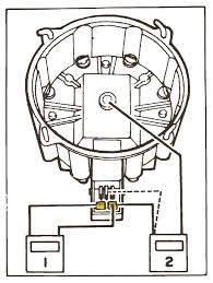 Then you need a ground wire that goes to engine ground it connects to the tach or negative terminal at the outer most connectors on the cap