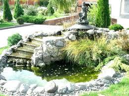 backyard pond ideas small garden ponds with waterfalls fabulous backyard pond ideas with waterfall small garden