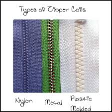 Zipper Size Chart Zip It Zippers Quick Guide To Zipper Teeth And Coil Sizes