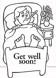Get Well Soon Coloring Pages Coloring Pages