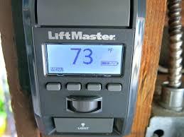 liftmaster garage door opener learn on wired garage door smart control panel liftmaster garage door opener