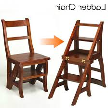 photo 3 of 3 library chair step stool 3 step ladder chai wood folding st end 9 8 2018