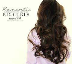 Second Day Curly Hairstyles Kim Kardashain Voluminous Blow Out Tutorial How To Blow Dry Hair