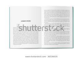Uturn Catalog Book Magazine Layout Page Stock Illustration 362184035