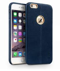 vorson double stitch leather case for apple iphone 6 6s plain back covers at low s snapdeal india