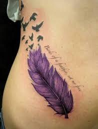 Tetování Pírko My Free World