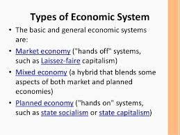 Types Of Economic Systems Chart Economic Systems Comparison Chart Google Search Economic