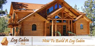 how to build a log cabin blog cover