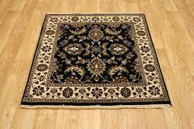 area rug beautiful allover design black square oriental 4x4 rugs 2