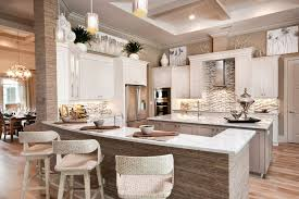 decorating above kitchen cabinets. Decorating Above Kitchen Cabinets With Baskets Beach Style Vent Hood Coffered Ceiling Counter Stools