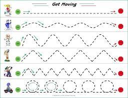 Penmanship Exercise Co Preschool Handwriting Practice Worksheets 8