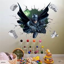 3d through wall batman wall sticker decal