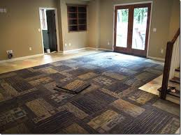 carpet tile ideas. Exellent Ideas Carpet Tile Design Ideas For Basement