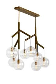 sedona double led chandelier from tech lighting deconstructed modern chandelier where glass orbs are