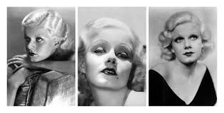 how jean harlow worry her makeup png