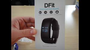 DFit D21 <b>Smart Heart Rate</b> Bracelet - YouTube