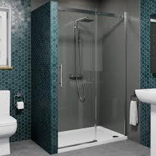 sliding shower door enclosures