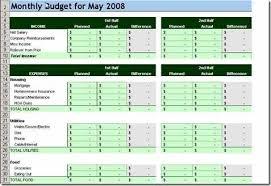 Household Budget Sample Worksheet 10 Free Household Budget Spreadsheets For 2019 Budget