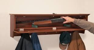Gun Coat Rack Hiding in Plain Sight Furniture to Hide Your Guns AllOutdoor 4