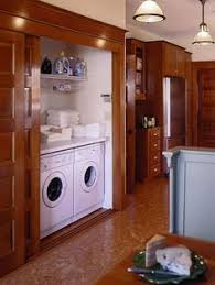 Kitchens with a Laundry Area
