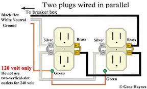 basic house wiring outlets are wired in parallel electrical switches timers outlets lights etc are never wired in series wiring in series will not work