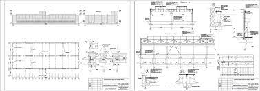 Одноэтажное промышленное здание курсовой проект Чертежи РУ Курсовой проект Цех железобетонных конструкций в г
