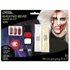 walking dead zombie make up kit