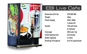 Tea Coffee Vending Machine Suppliers Simple Live South Indian Filter Coffee Vending Machine At Rs 48 Piece