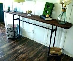narrow sofa table. Very Narrow Sofa Table Thin Black Console