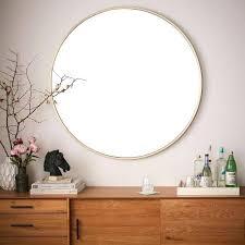 30 inch round mirror 30 mirrored bathroom vanity