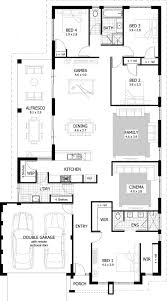 4 bedroom bungalow house plans in