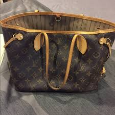 louis vuitton used bags. authentic (used) louis vuitton pm never full bag used bags e
