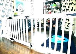 outdoor baby gates retractable deck gate fence dog indoor for kitchen high with door extra wide