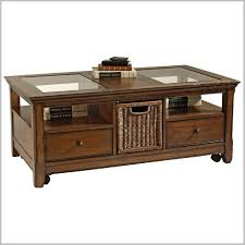 great glass top coffee table with two drawers and single tier rack storage coffee table with glass top and storage