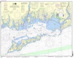 Details About Noaa Nautical Chart 13214 Fishers Island Sound