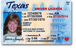 Driver's Market Texas New Central Highlands Stumps License Lake -