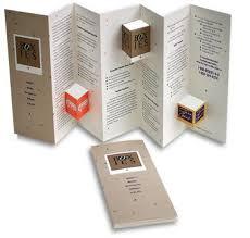 unique brochures die cut brochure designs great deals and ideas at www die cut