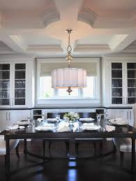 drum shade chandelier in diffe dining rooms to try traba homes intended for large design 11