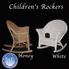 wicker rocking chair. Kids Rocker Wicker Rocking Chair F