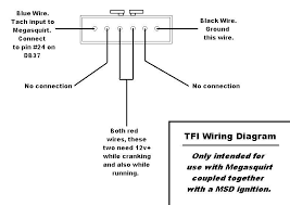 how to megasquirt your ford mustang com here is an external wiring diagram for the v3 0 board v2 2 wiring is identical except that you will connect the msd white wire to pin 25 instead of 36