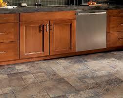 this kitchen laminate flooring looks like slate tiles
