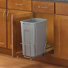 Plastic Kitchen Cabinet Simple Plastic Pull Out Trash Cans Kitchen Cabinet Organizers The
